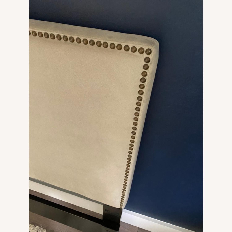 West Elm Upholstered Full Headboard - image-2
