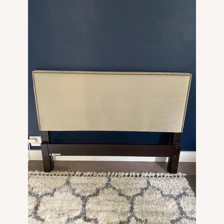 West Elm Upholstered Full Headboard - image-1