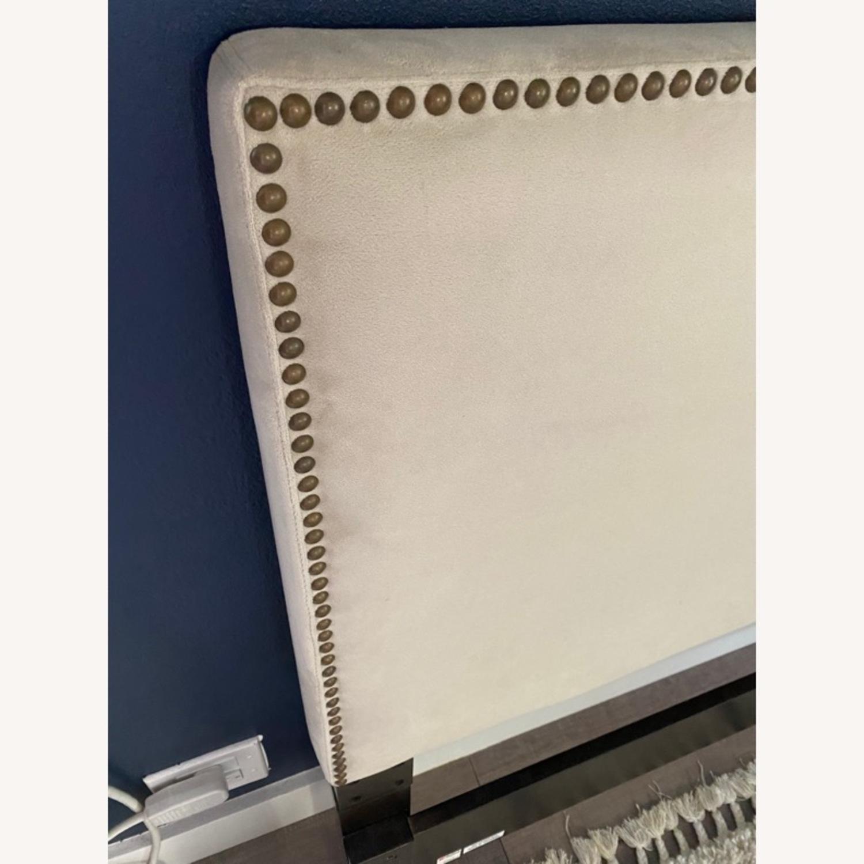 West Elm Upholstered Full Headboard - image-3