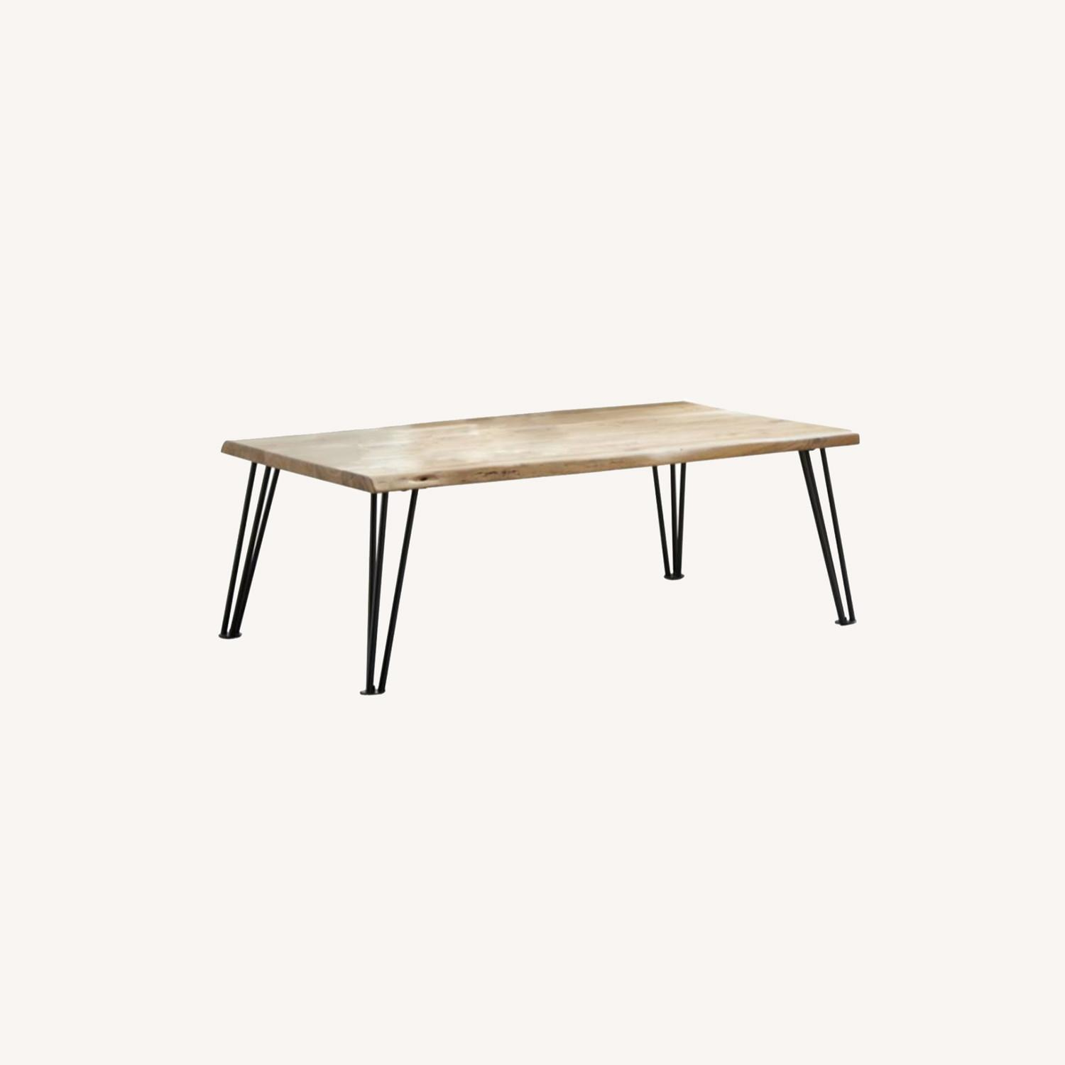 Coffee Table In Natural Acacia Wood Finish - image-4
