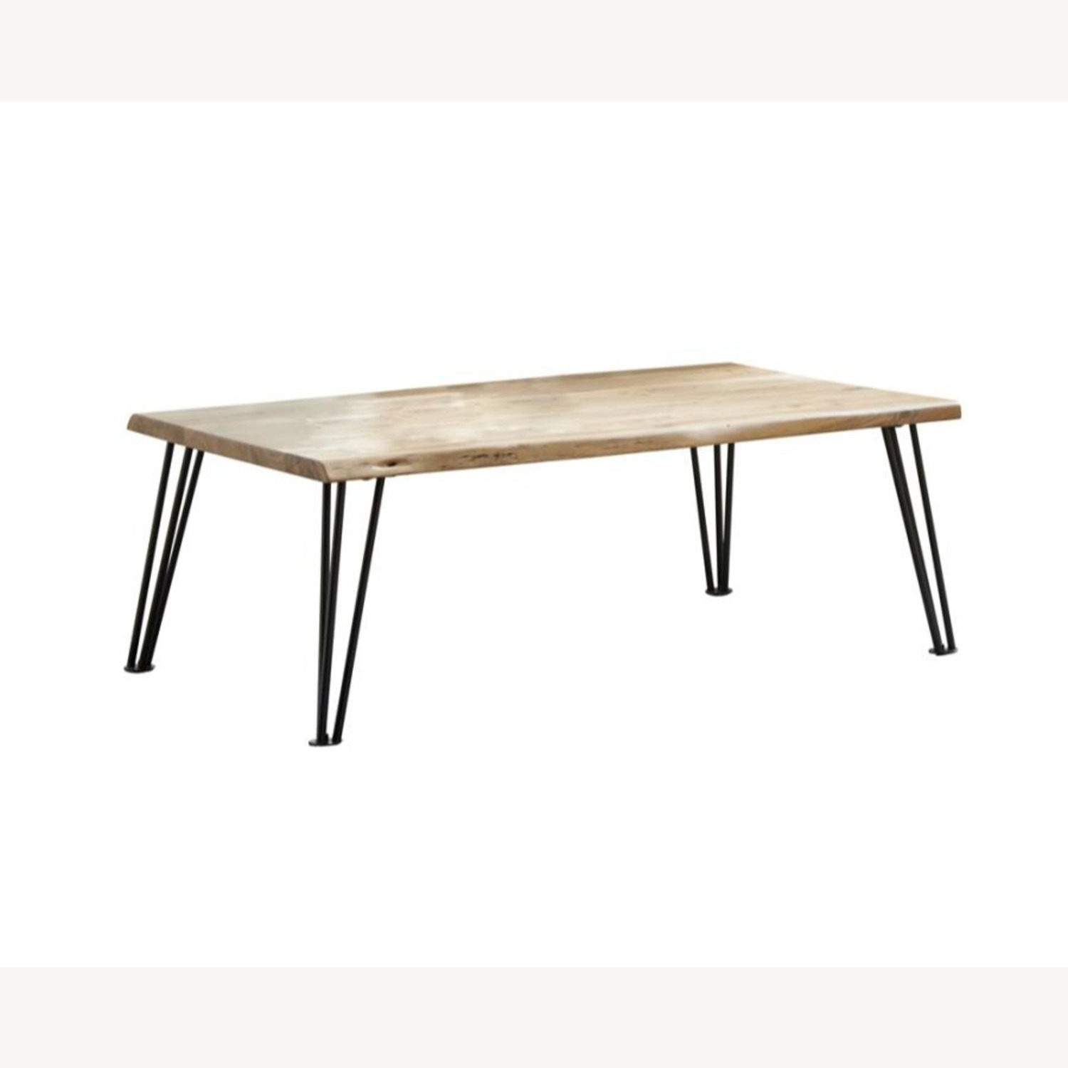 Coffee Table In Natural Acacia Wood Finish - image-0
