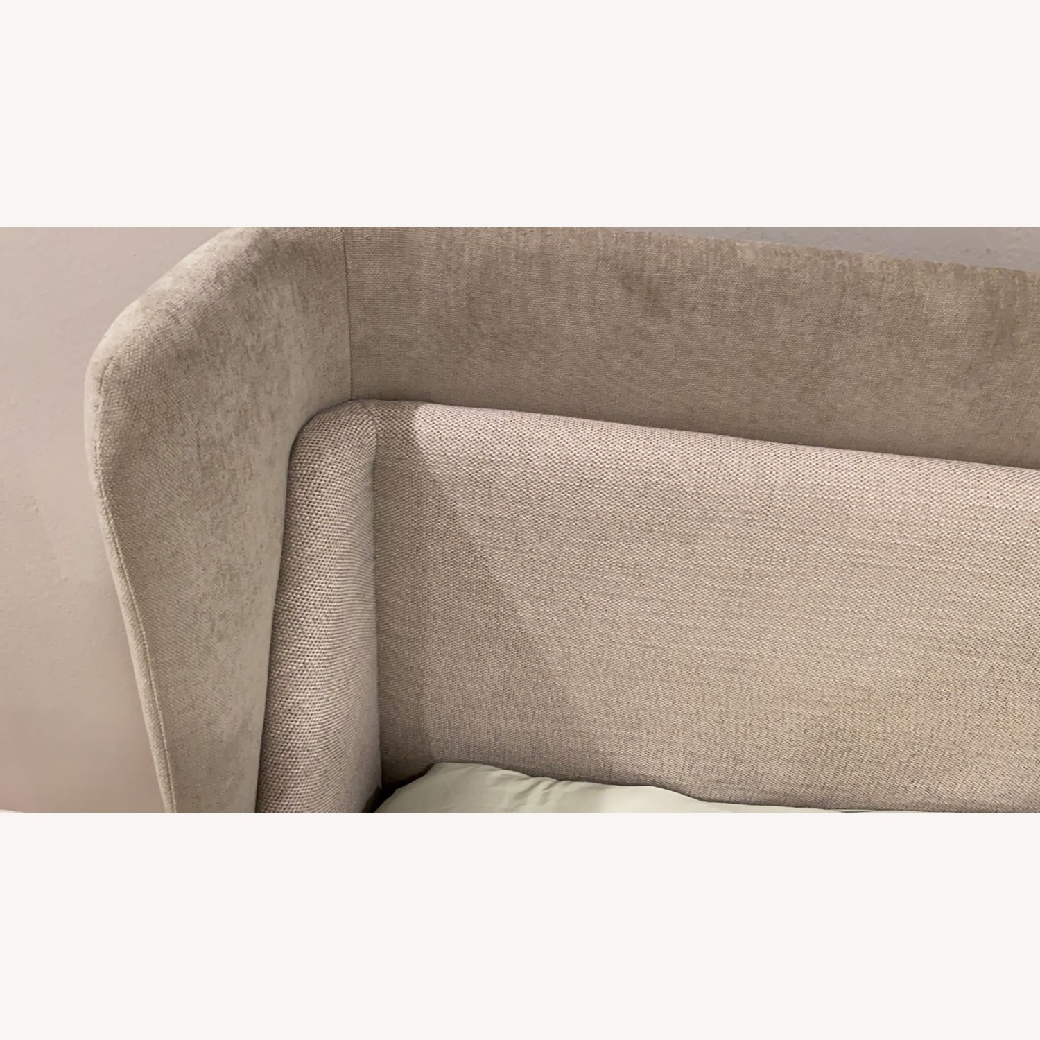 West Elm Thea Wing Bed (King Size) - image-3