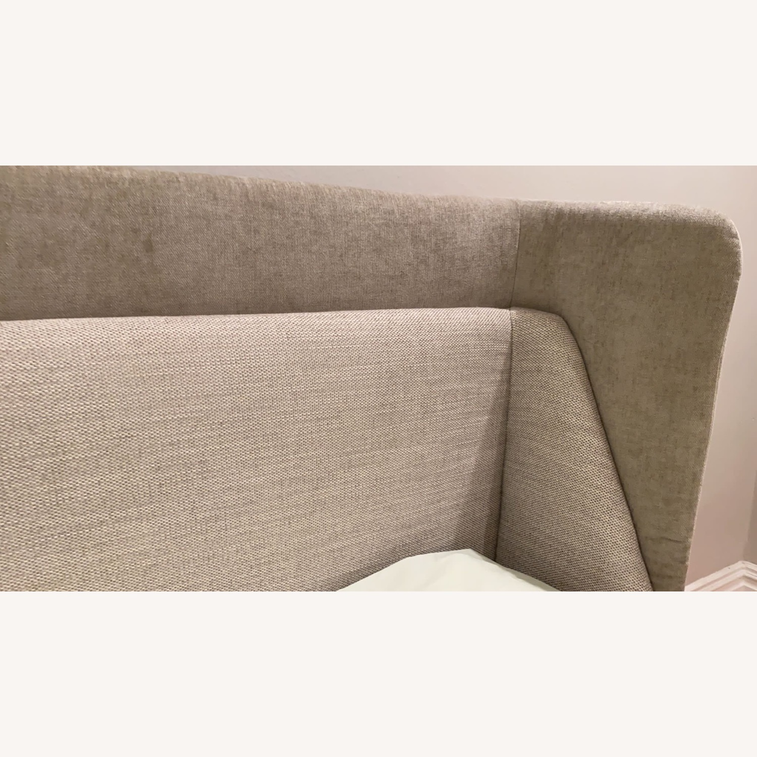 West Elm Thea Wing Bed (King Size) - image-4