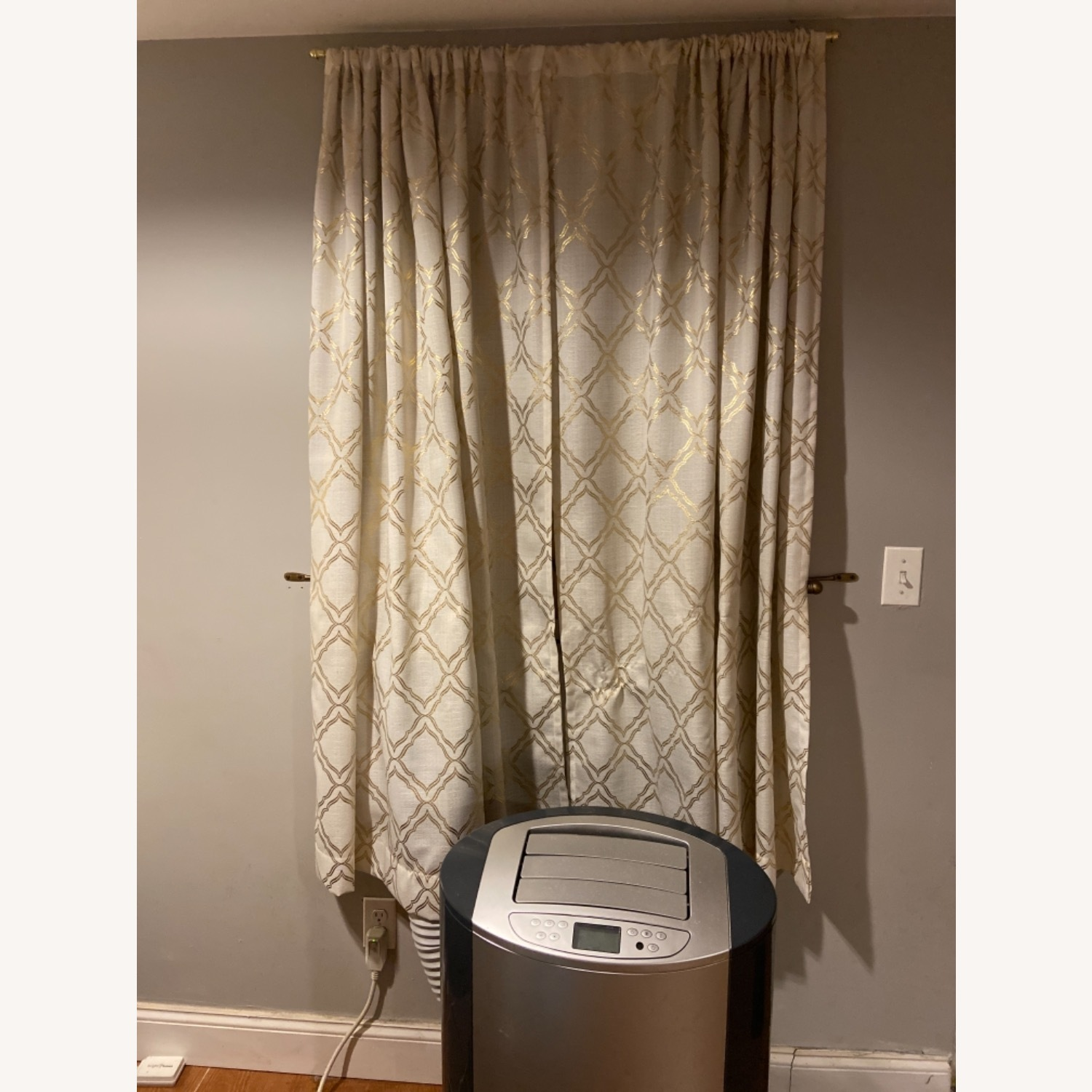 Target Gold Detailed Curtains - image-2