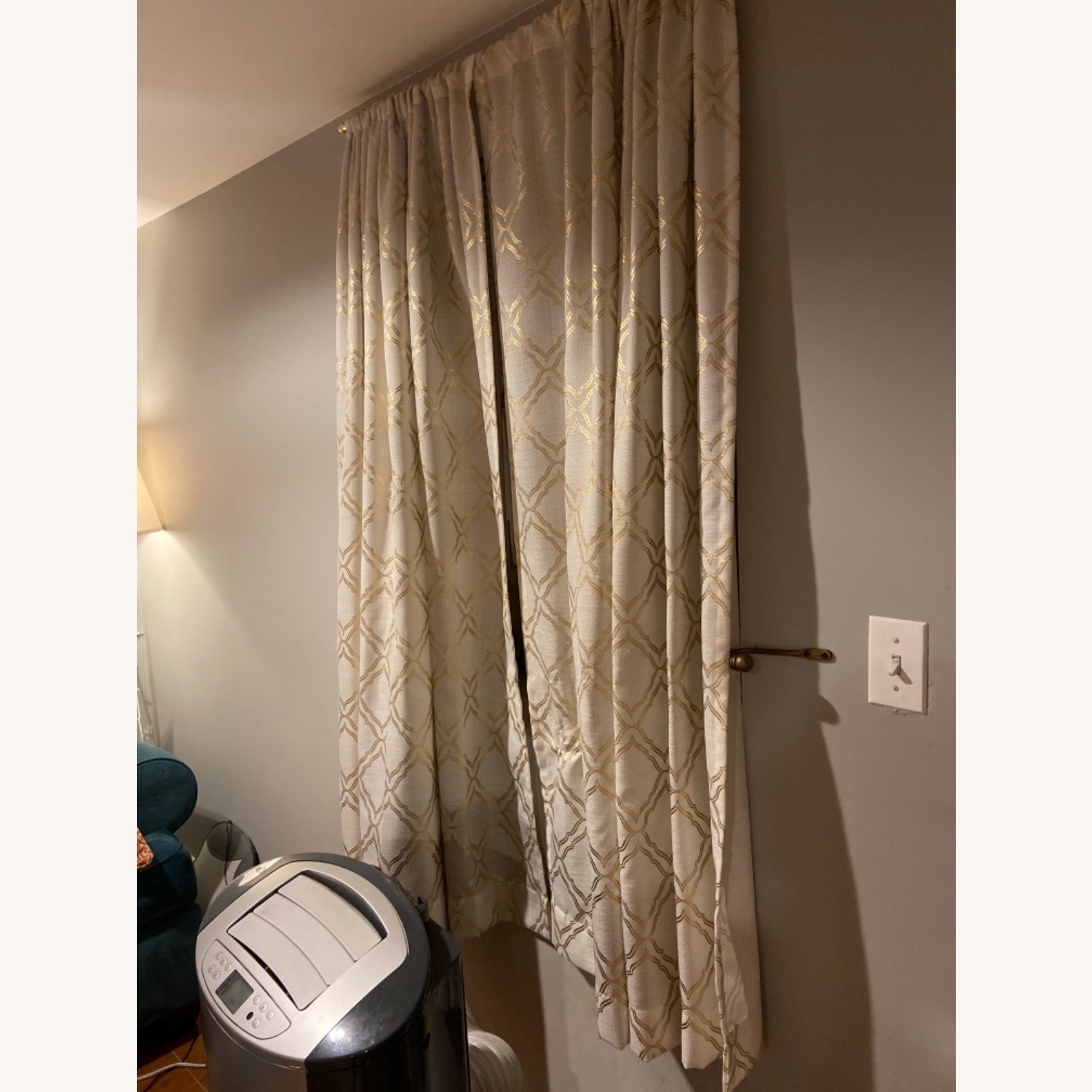 Target Gold Detailed Curtains - image-3