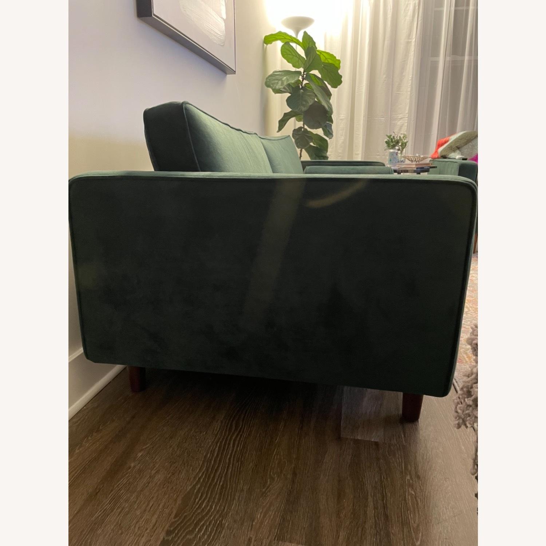 Dark Green Couch - Mid Century - image-3