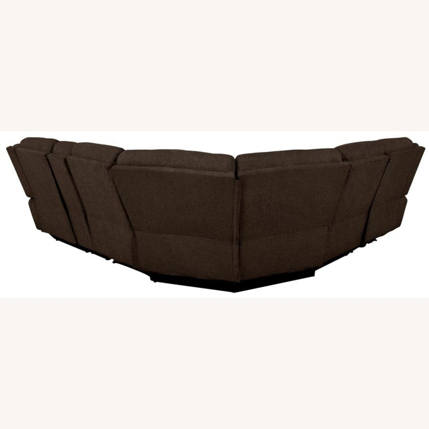 Motion Sectional In Brown Performance Fabric - image-6