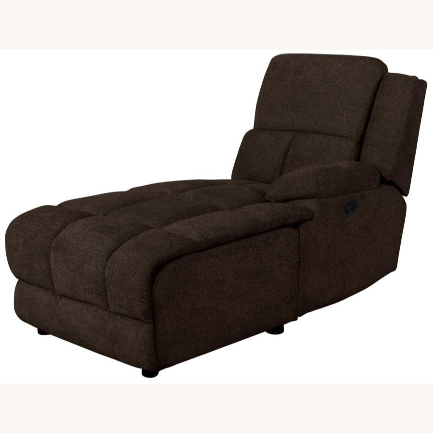 Motion Sectional In Brown Performance Fabric - image-5