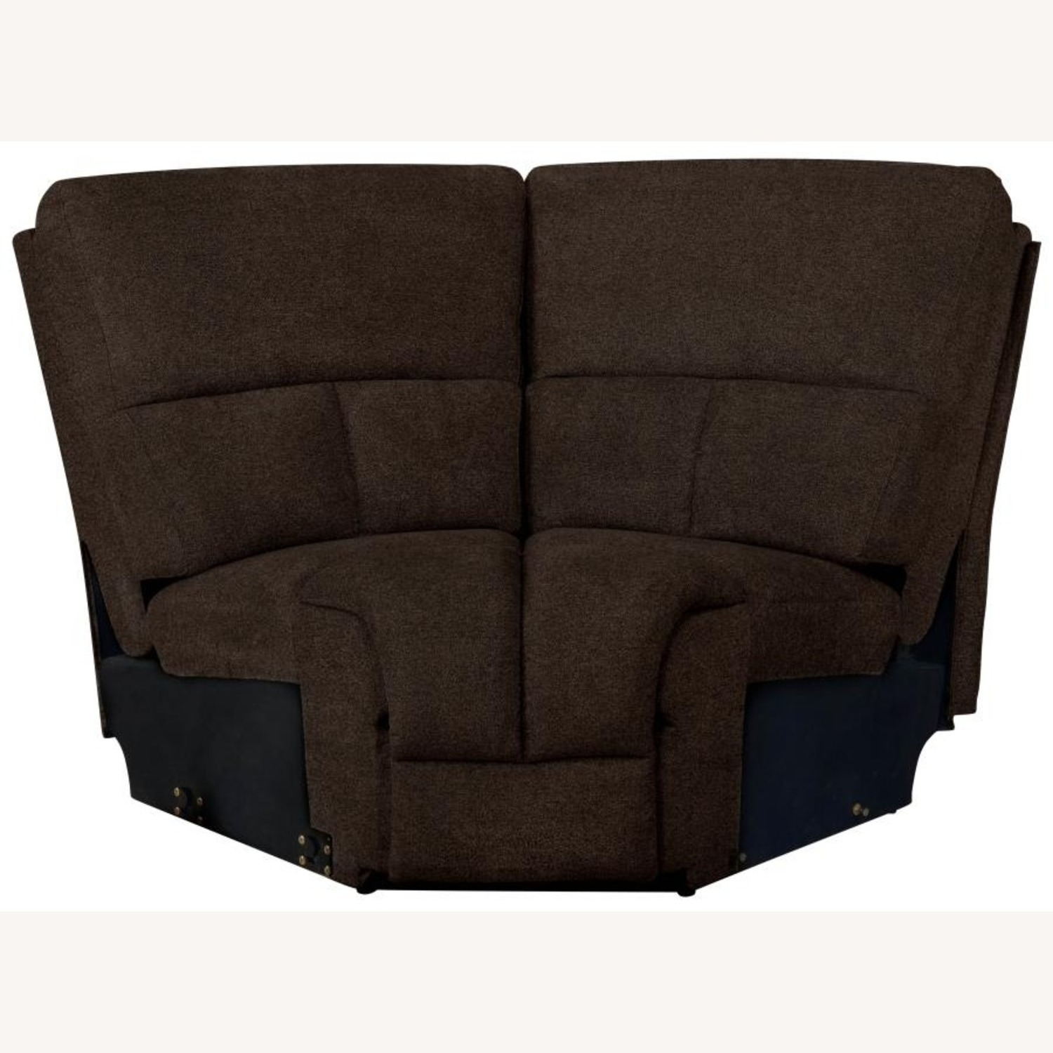 Motion Sectional In Brown Performance Fabric - image-8