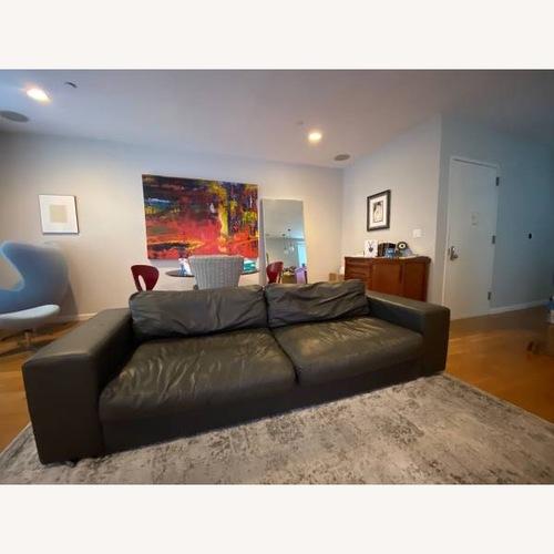 Used BoConcept Terni Leather Sofa for sale on AptDeco