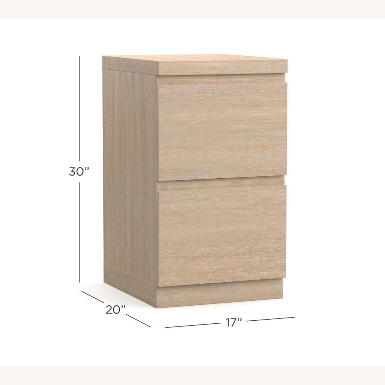 """Pottery Barn Pacific 17"""" 2-Drawer Vertical File - image-3"""