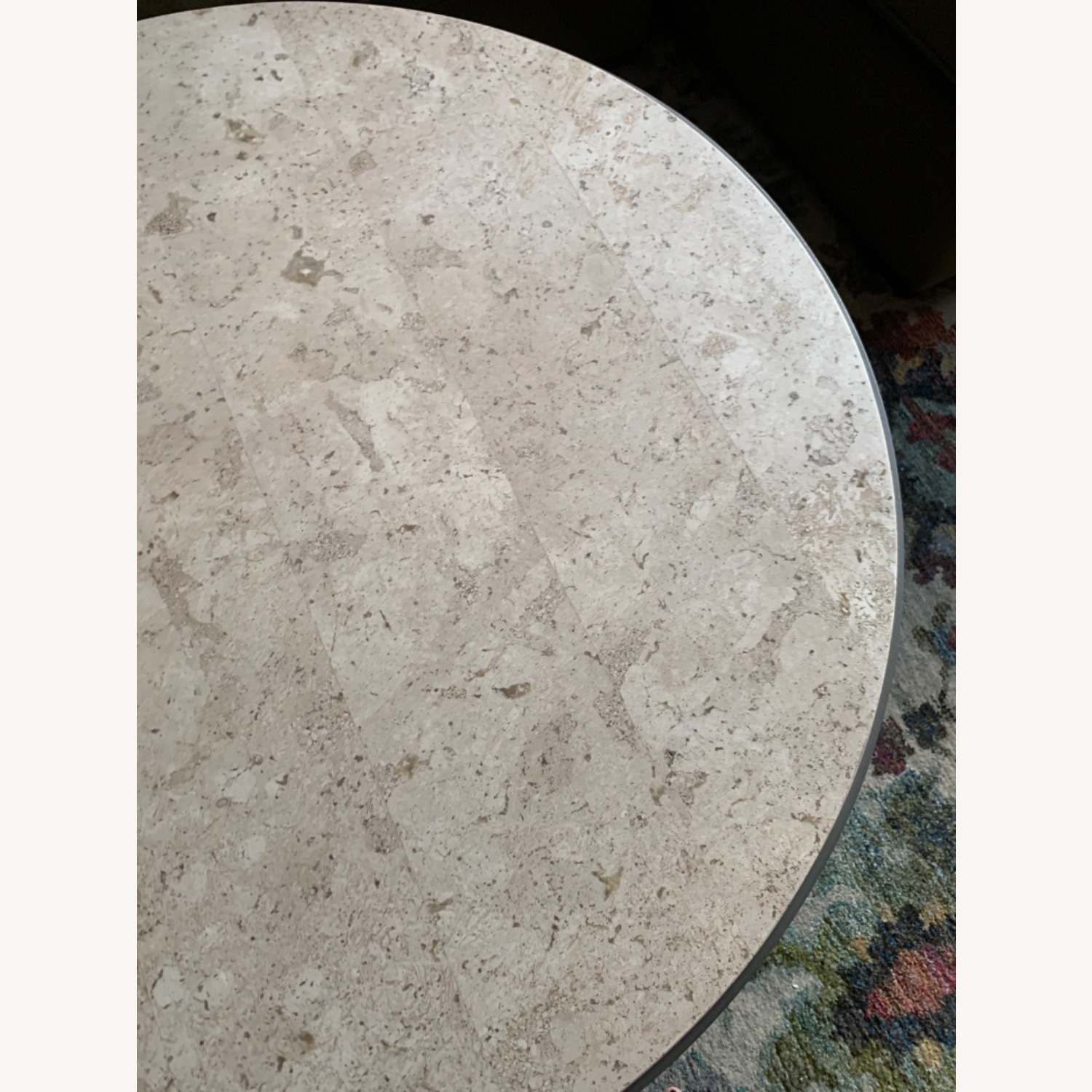 Travertine Marble Nesting Coffee Tables - image-3