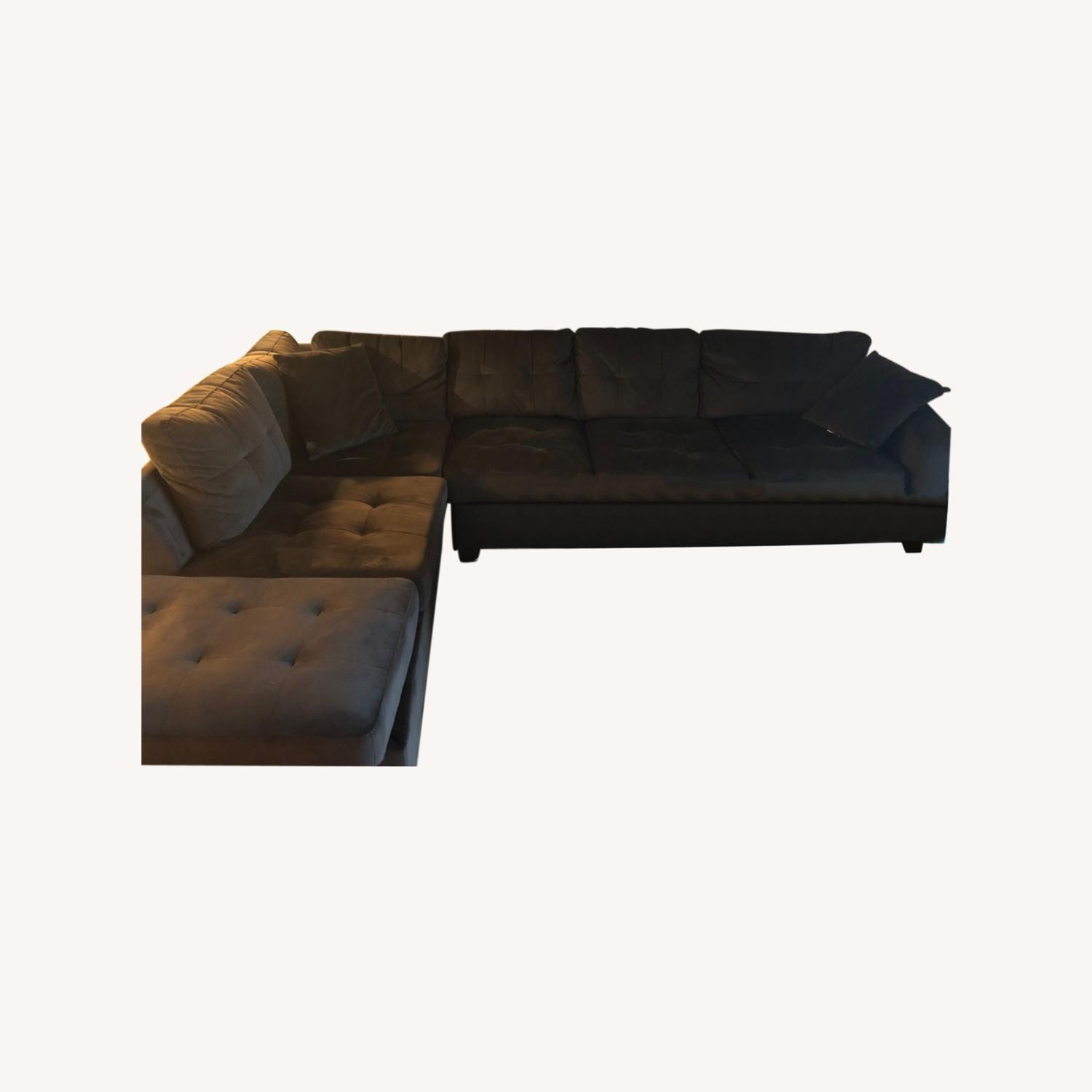 Wayfair 2 Piece Sectional Couch - image-0