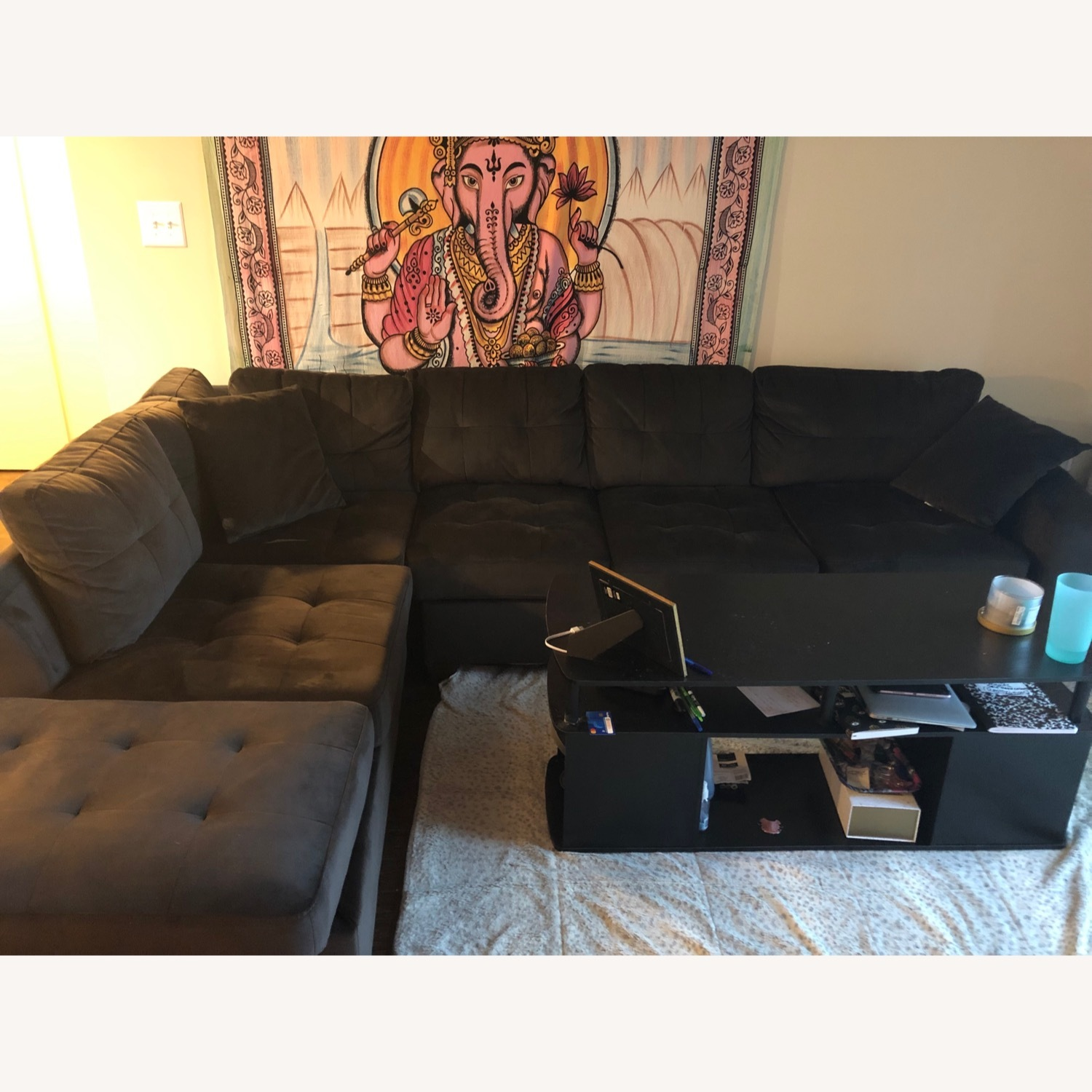 Wayfair 2 Piece Sectional Couch - image-1