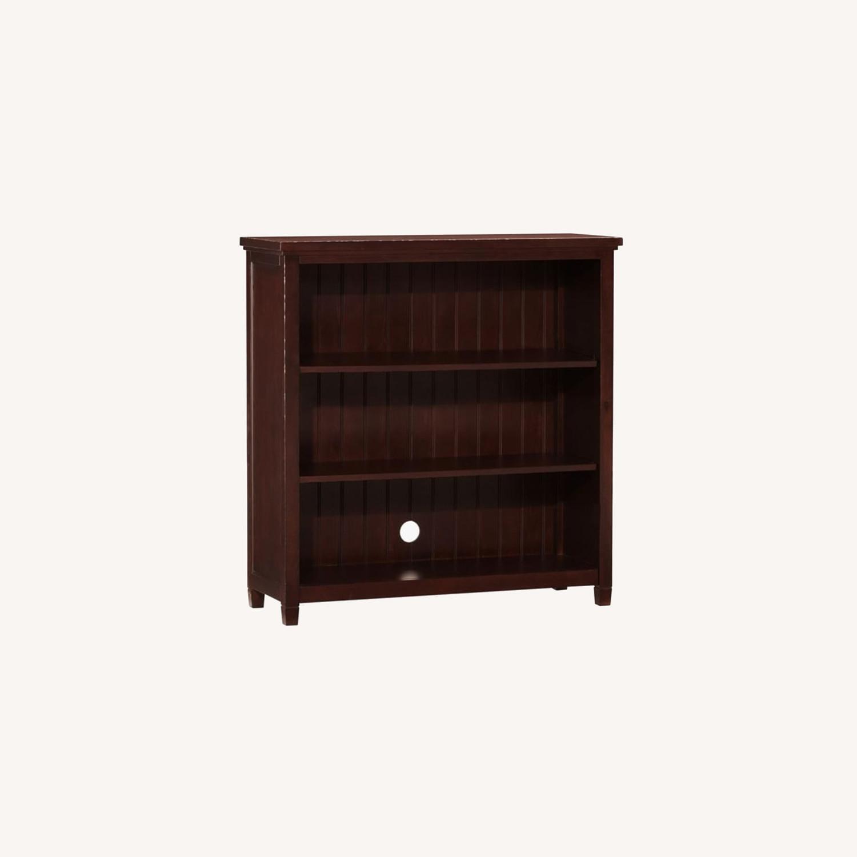 Pottery Barn Beadboard Wide Bookcase - image-0