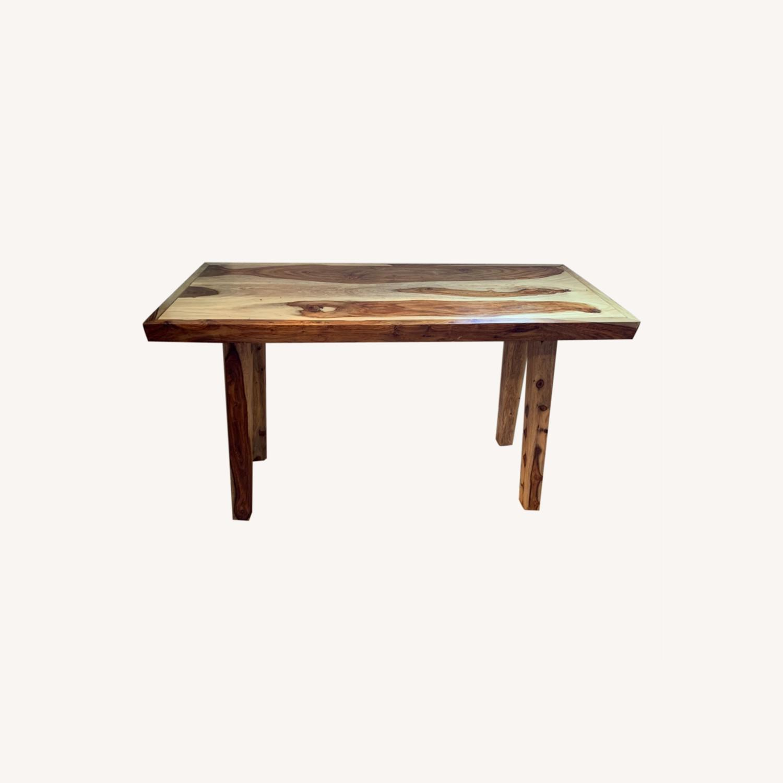 Wood Console - image-0