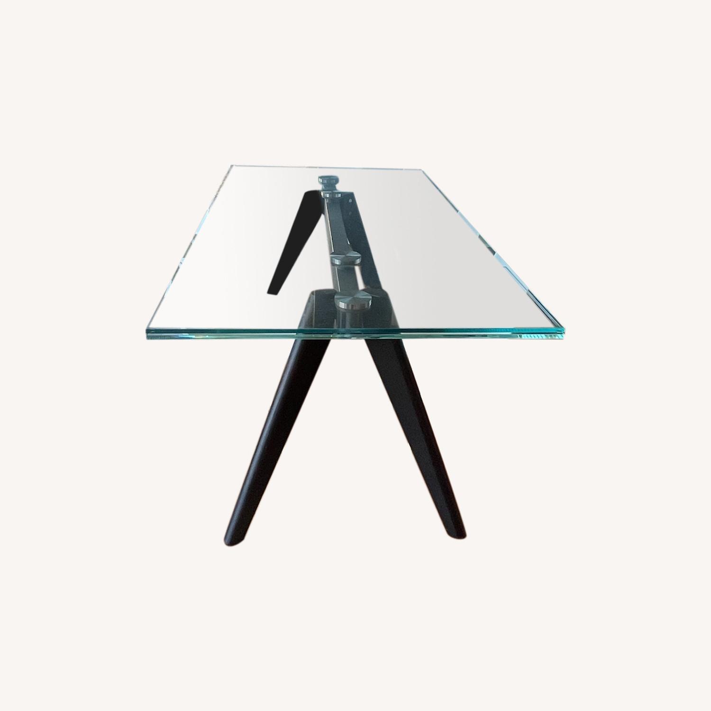 BoConcept Modern Stylish Glass Dining Table - image-6