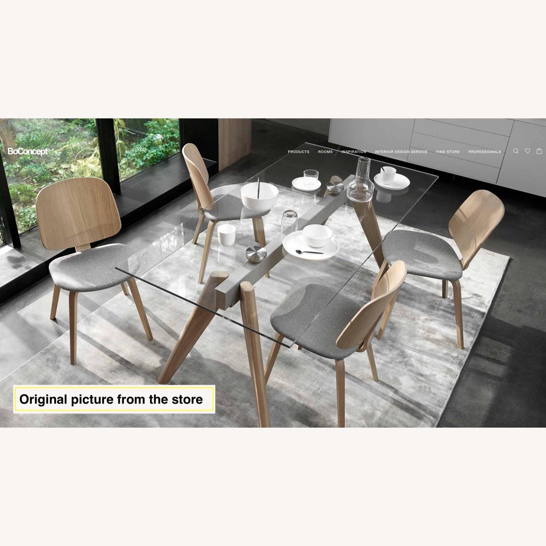 BoConcept Modern Stylish Glass Dining Table - image-3