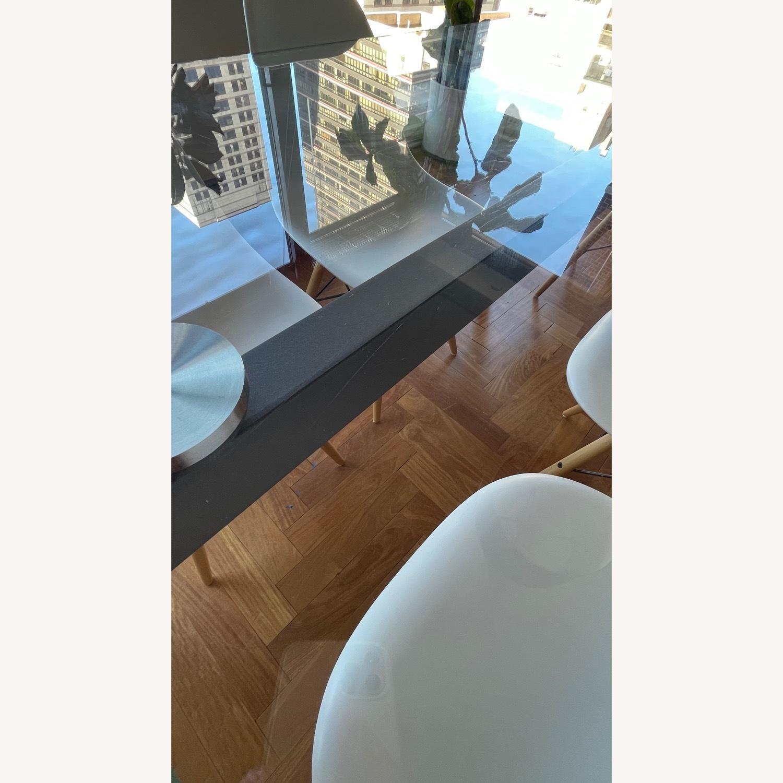 BoConcept Modern Stylish Glass Dining Table - image-4