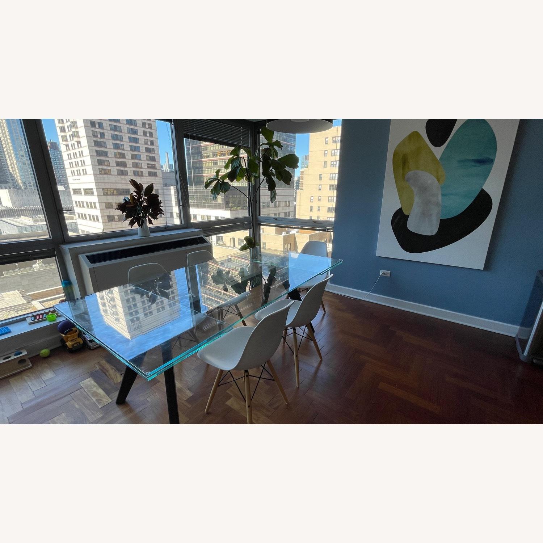 BoConcept Modern Stylish Glass Dining Table - image-2