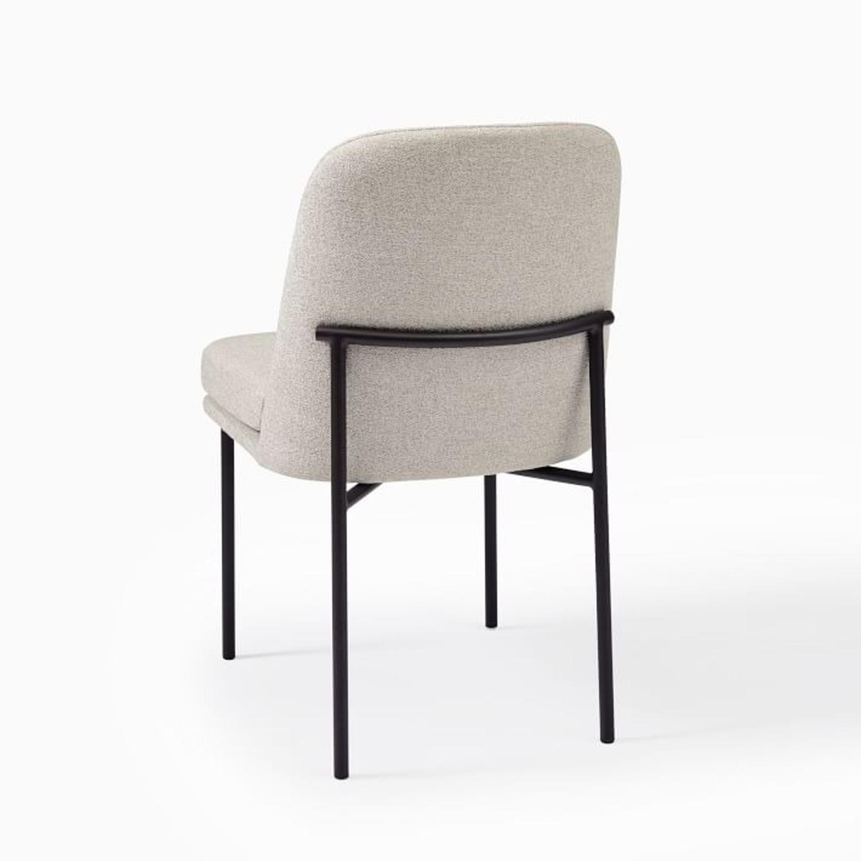 West Elm Jack Metal Frame Dining Chairs, Set of 2 - image-3