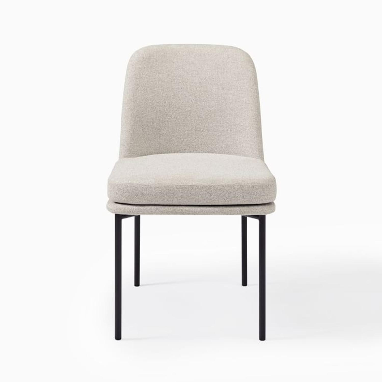 West Elm Jack Metal Frame Dining Chairs, Set of 2 - image-2