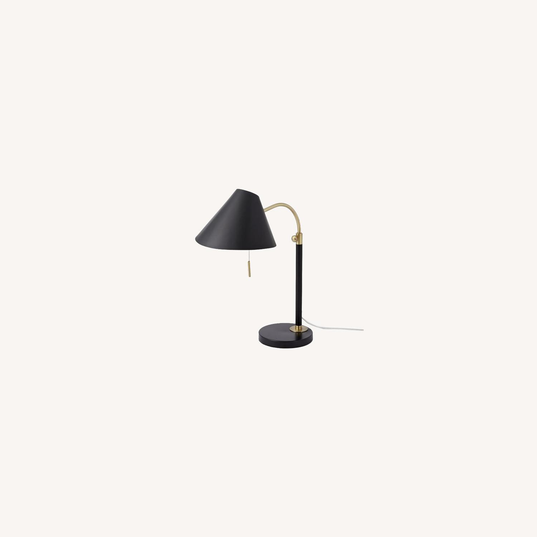 West Elm Mid-Century Task Table Lamp, Black - image-0