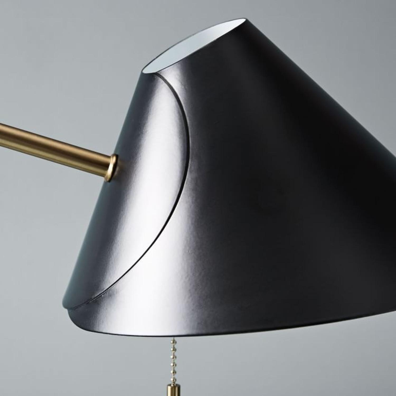 West Elm Mid-Century Task Table Lamp, Black - image-2