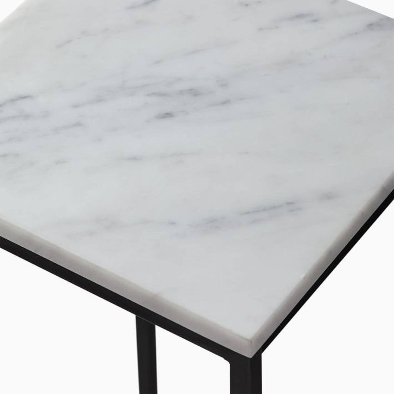West Elm Streamline Small Pedestal Side Table - image-2
