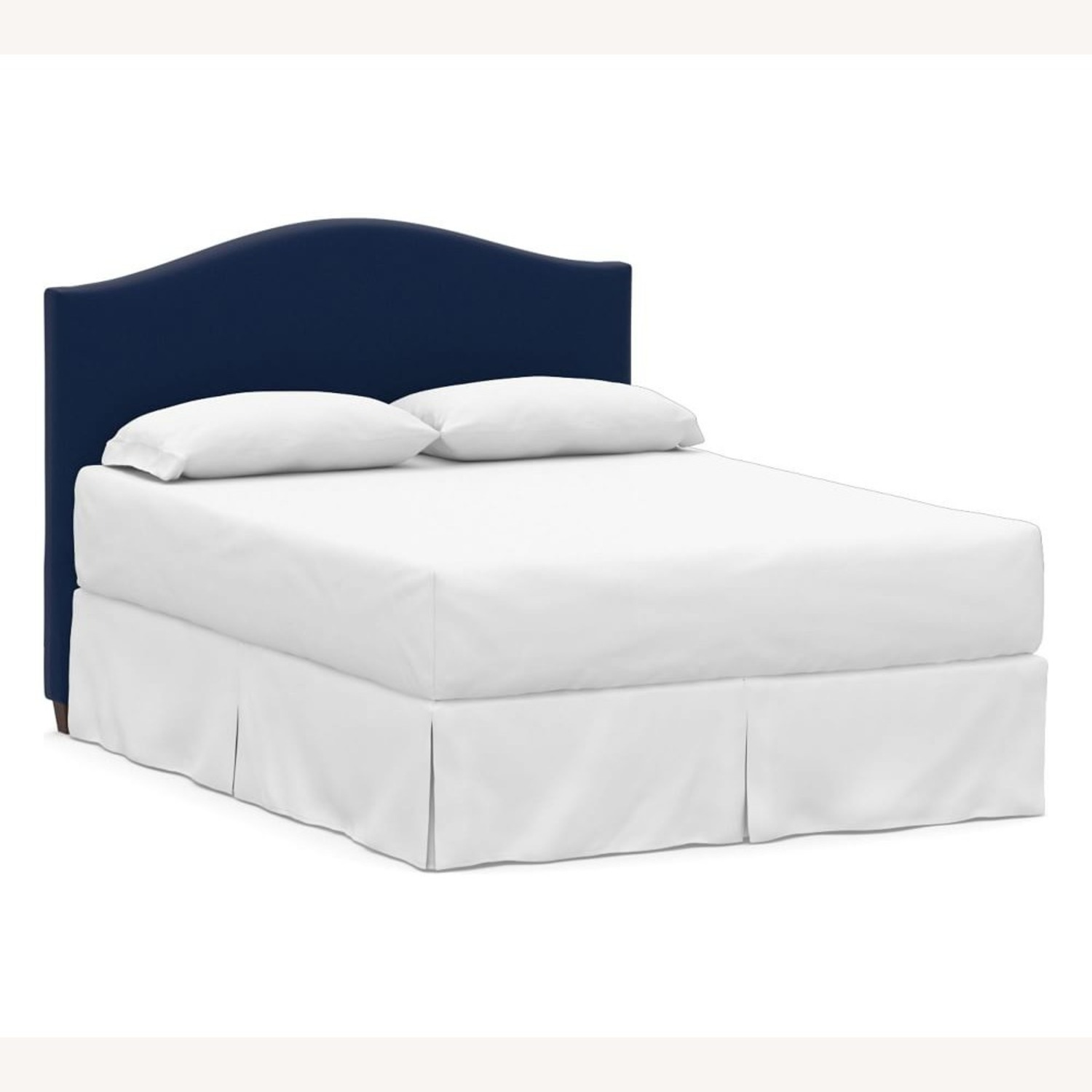 Pottery Barn Raleigh Curved Low Headboard - image-1