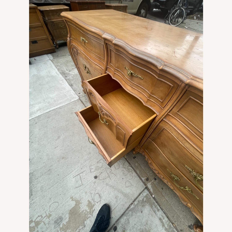 Vintage 1970s French Bombe 9 - Drawer Dresser - image-20