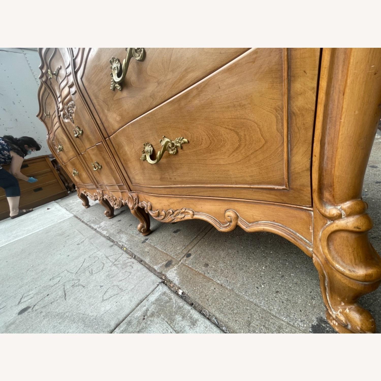 Vintage 1970s French Bombe 9 - Drawer Dresser - image-18