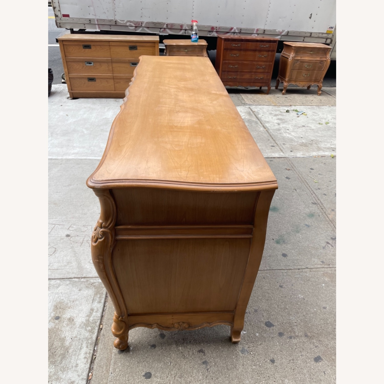 Vintage 1970s French Bombe 9 - Drawer Dresser - image-5
