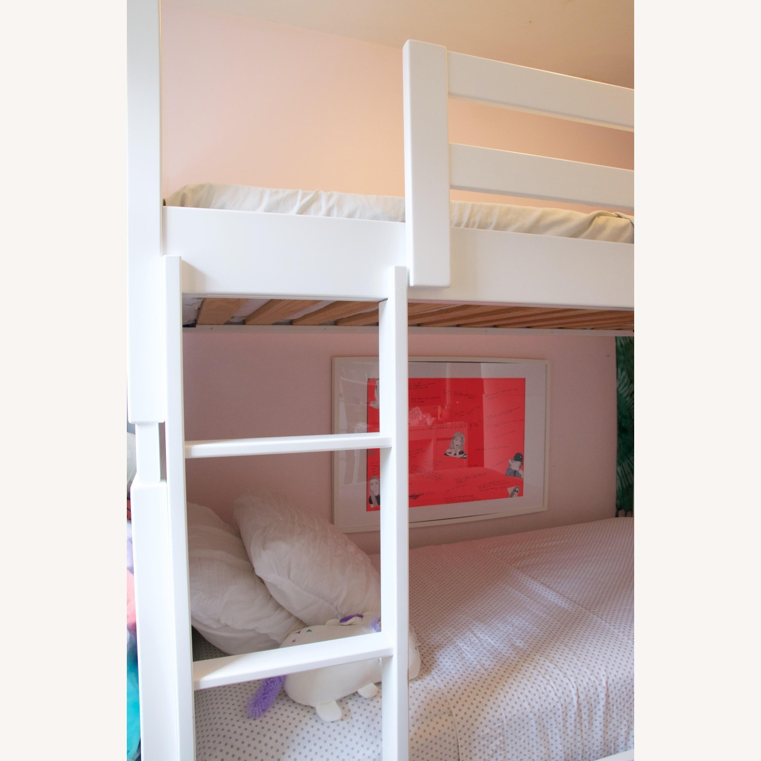 Room & Board White Bunk Bed - image-6