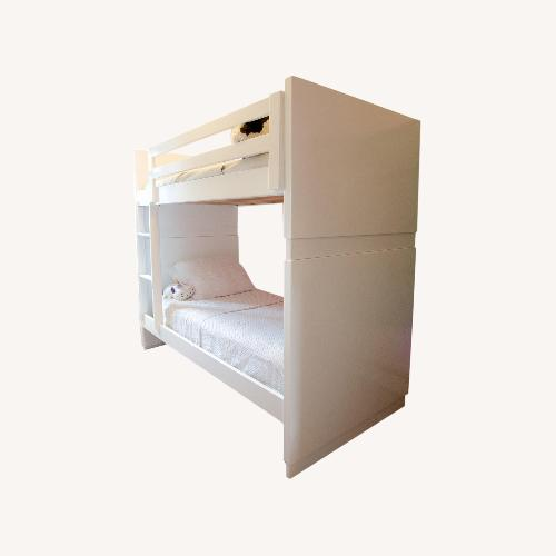 Used Room & Board White Bunk Bed for sale on AptDeco