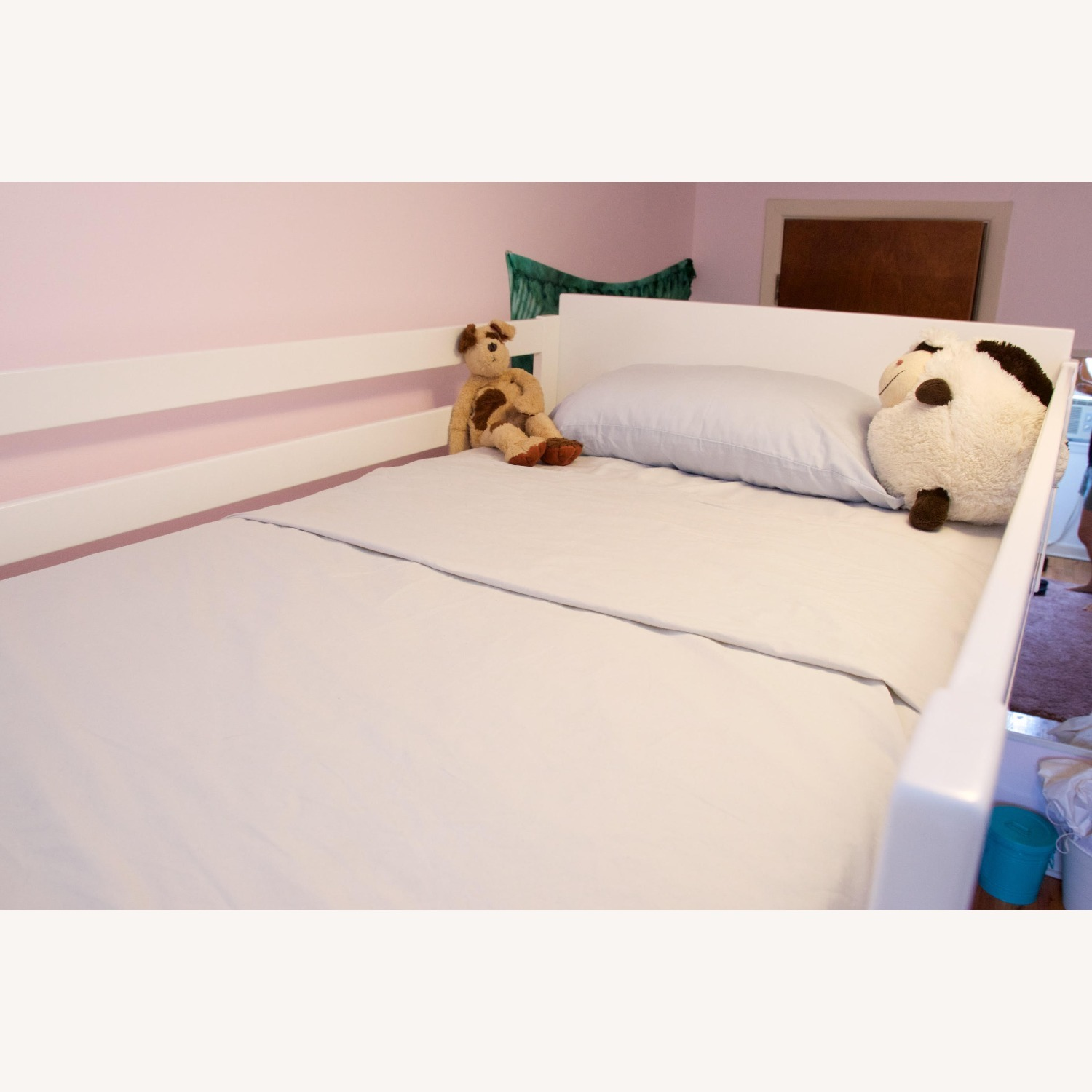 Room & Board White Bunk Bed - image-5