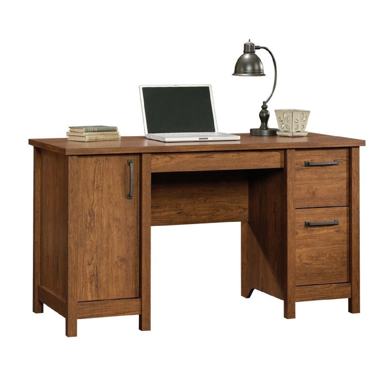 Wayfair Comfortable Wood Desk with Drawers - image-5