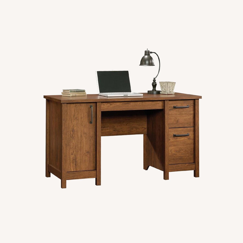 Wayfair Comfortable Wood Desk with Drawers - image-0