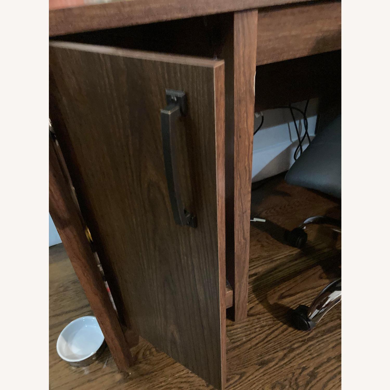 Wayfair Comfortable Wood Desk with Drawers - image-4
