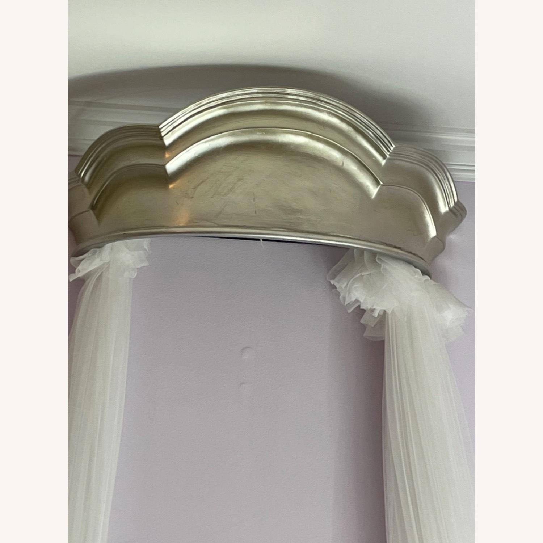 Pottery Barn Monique Lhuillier Metallic Cornice Canopy - image-3