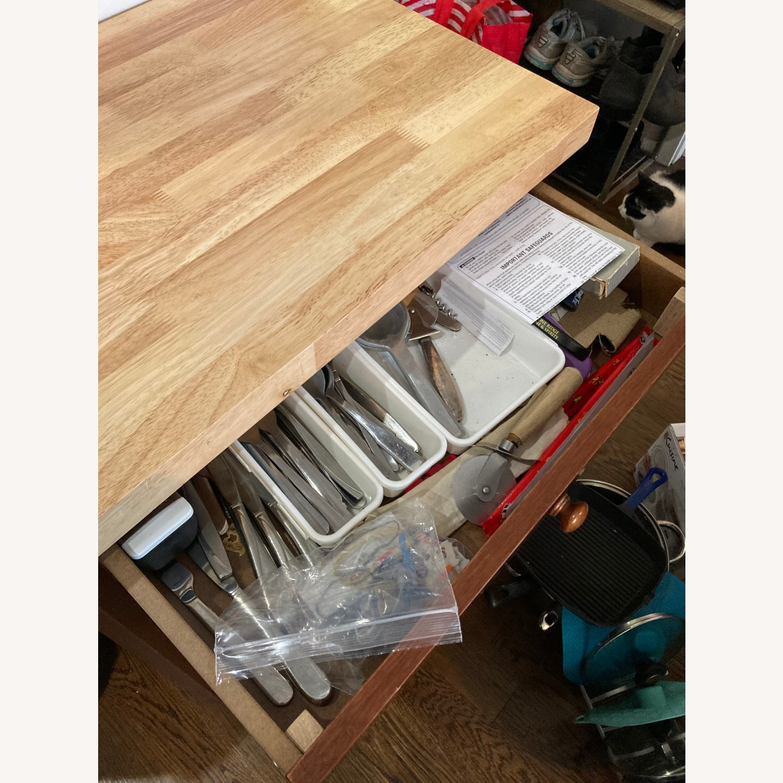 Craftsman Solid Wood Kitchen Cart - image-2