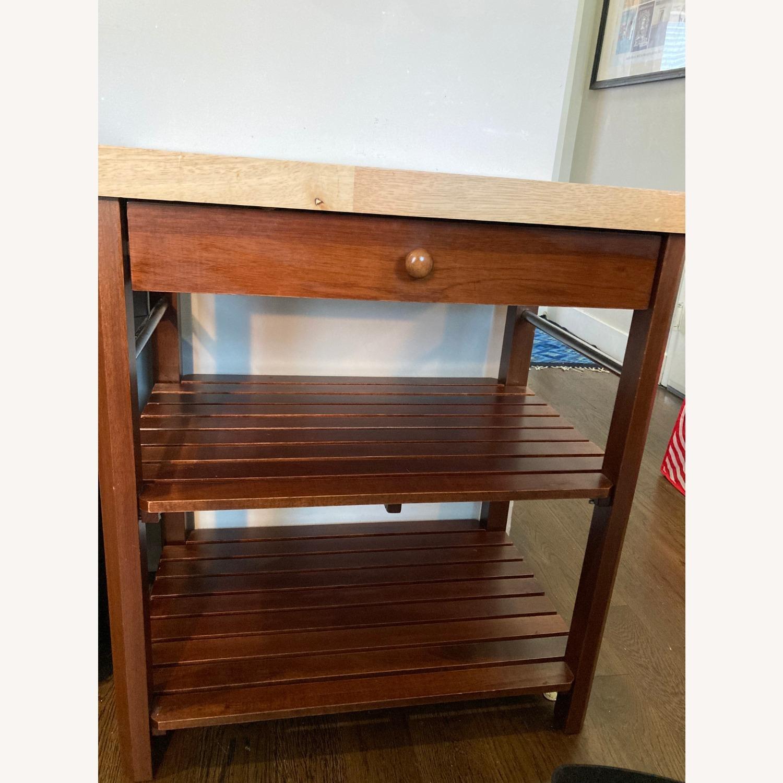Craftsman Solid Wood Kitchen Cart - image-3