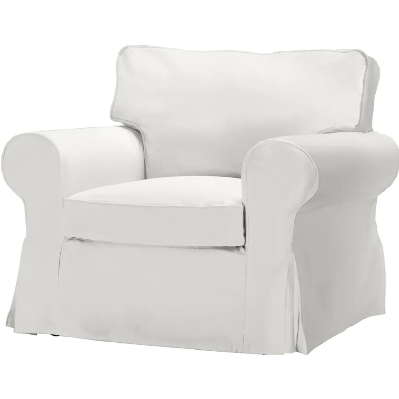 IKEA Uppland Chair and Slipcover - image-9