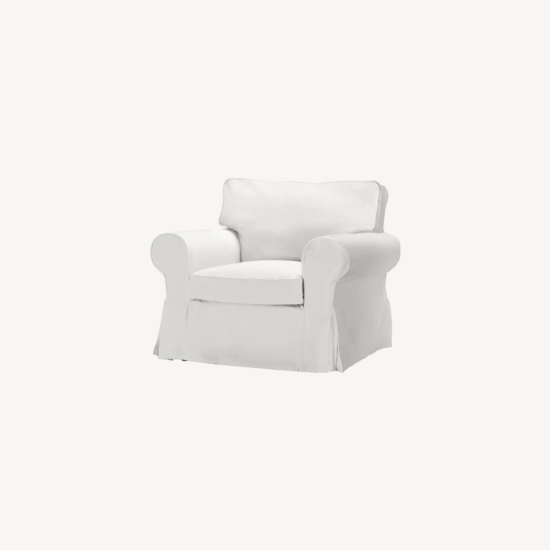 IKEA Uppland Chair and Slipcover - image-0