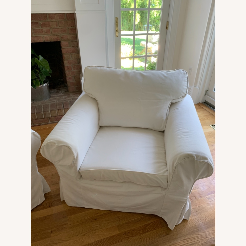 IKEA Uppland Chair and Slipcover - image-2
