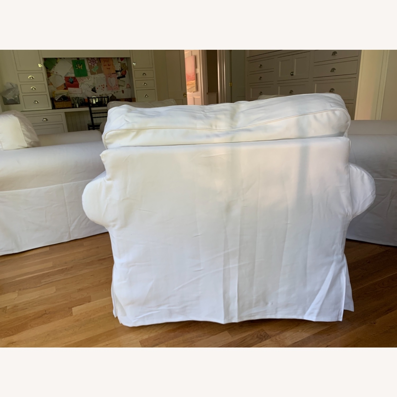 IKEA Uppland Chair and Slipcover - image-3