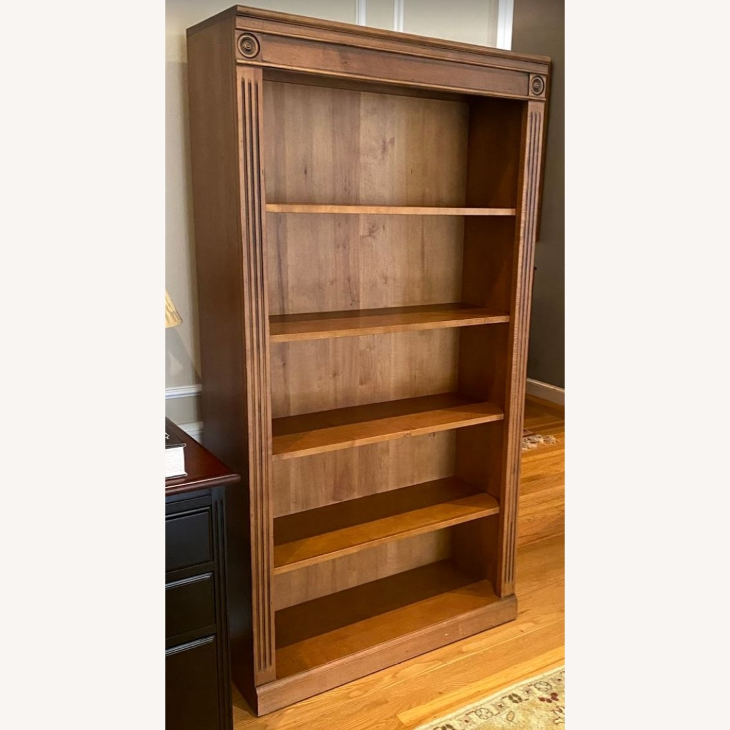 Ethan Allen Solid Wood Bookcase - image-2