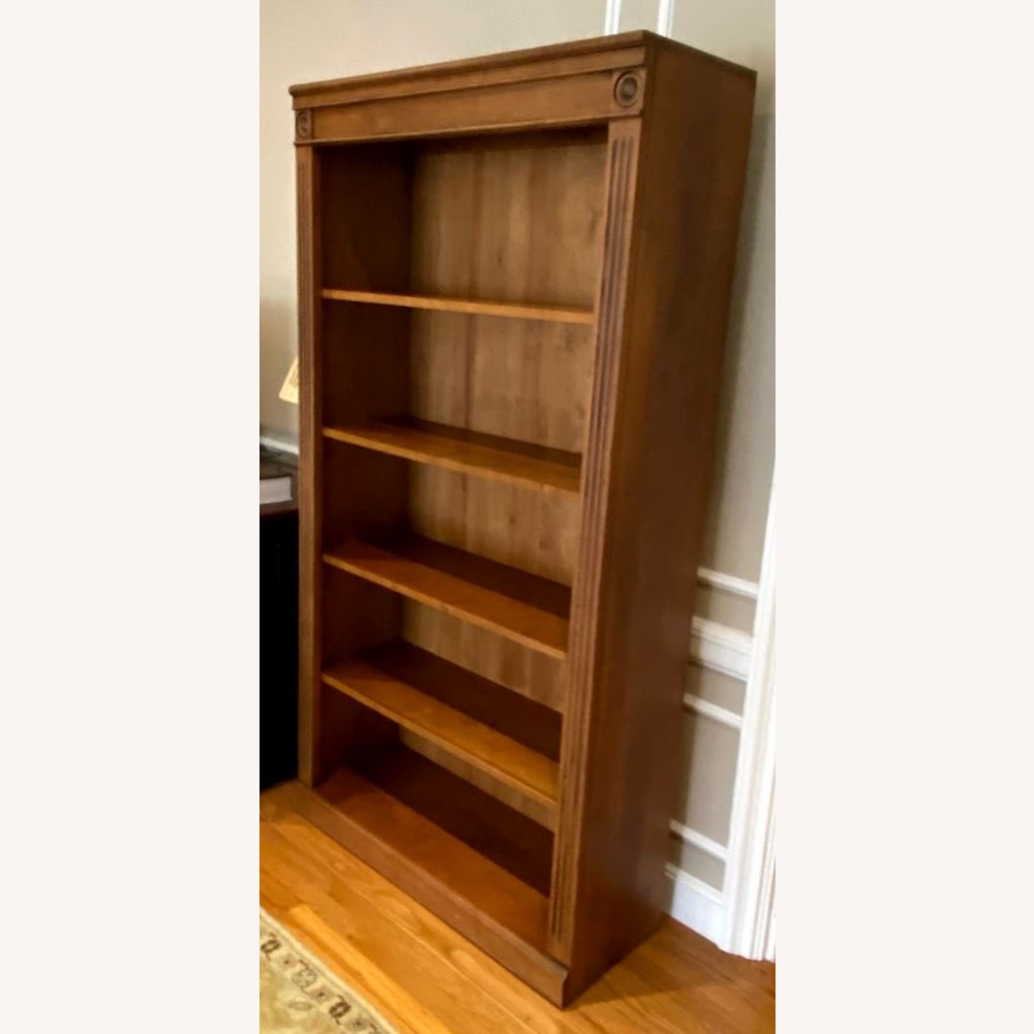 Ethan Allen Solid Wood Bookcase - image-3