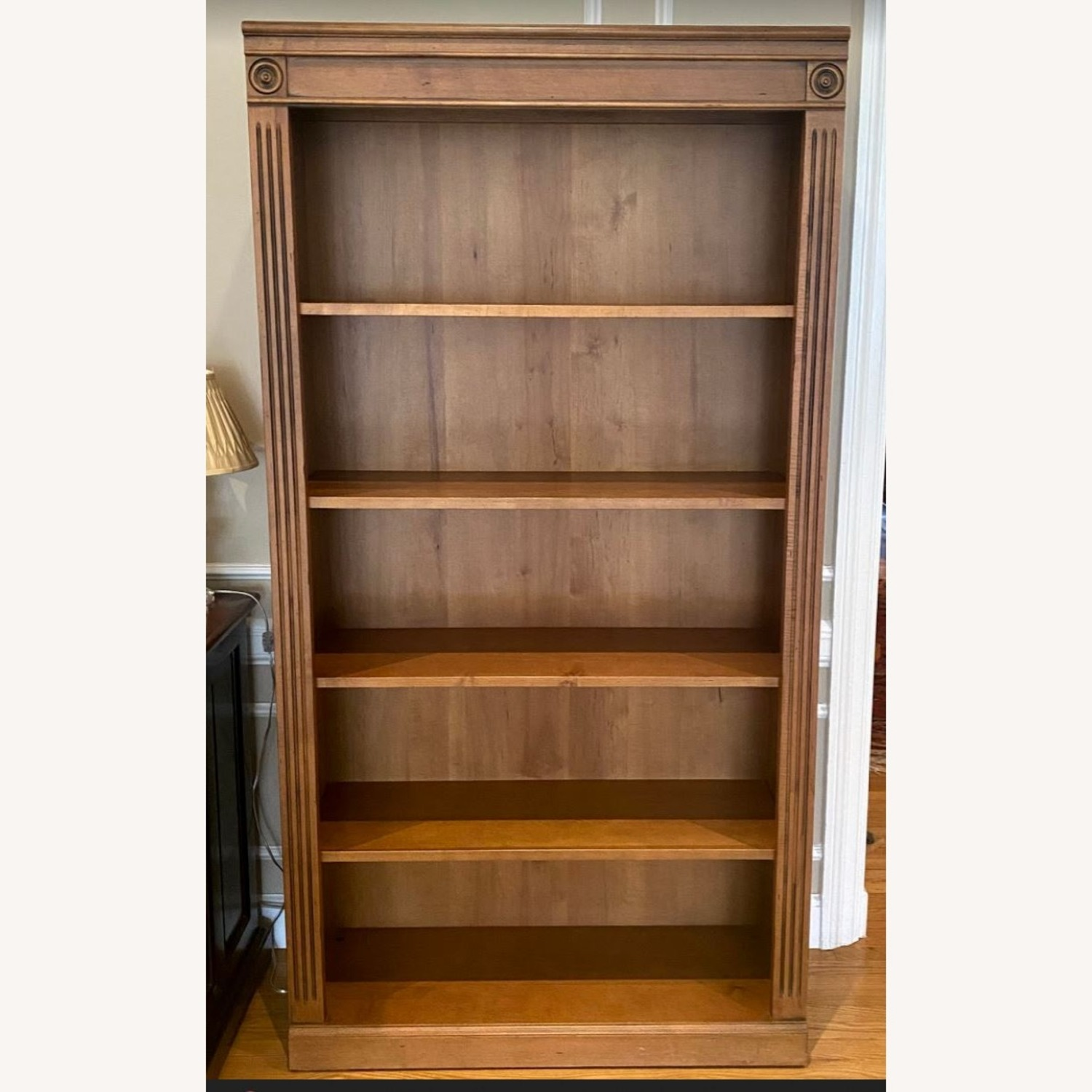 Ethan Allen Solid Wood Bookcase - image-1