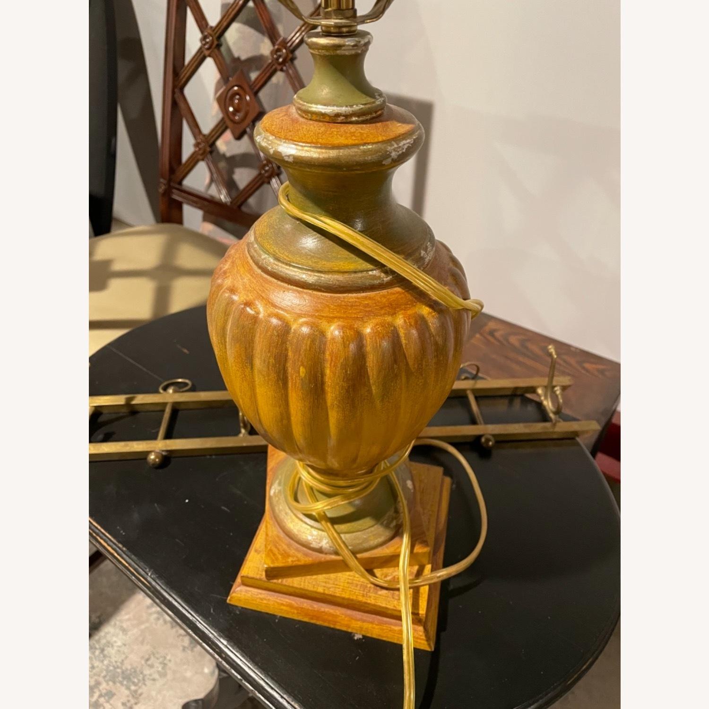 Vintage Gold Lamp (no shade) - image-2